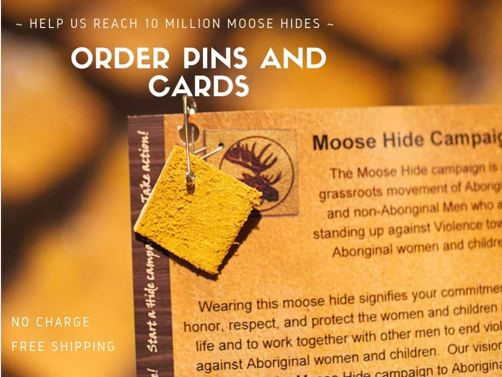 Moose Hide Pin